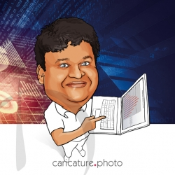 Corporate Caricatures, Business Gift Caricatures | Business Analytics | Caricature Your Photo | Online Caricatures | Personalized Caricature