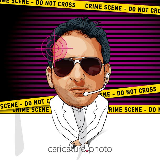 Superhero / Hero Caricatures | CSI Caricature | Caricature Your Photo | Online Caricatures | Personalized Caricature