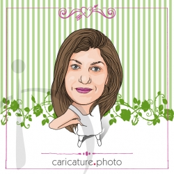 Party Invitations, Celebrations and Caricature Gifts | Kitty Kitty | Caricature Your Photo | Online Caricatures | Personalized Caricature