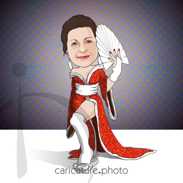 Super Hero Caricature, Super Gift Caricatures | Mata Hari Caricatures | Super Caricature Your Photo | Online Caricatures | Personalized Caricature